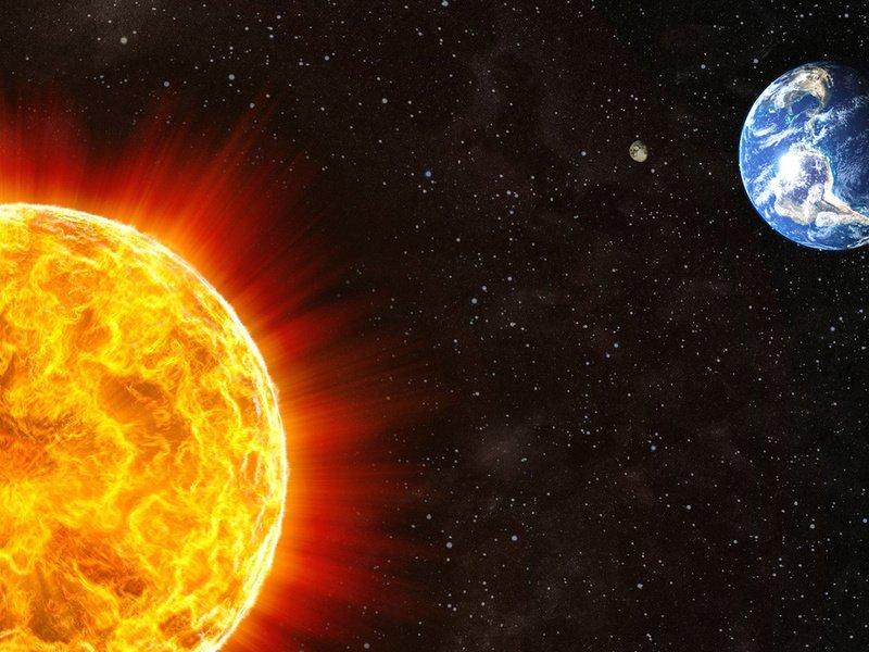 Солнце - ближайшая звезда в космосе