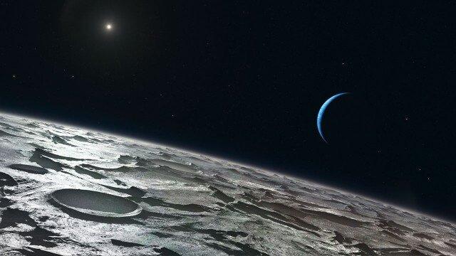 Уран. Вид со спутника