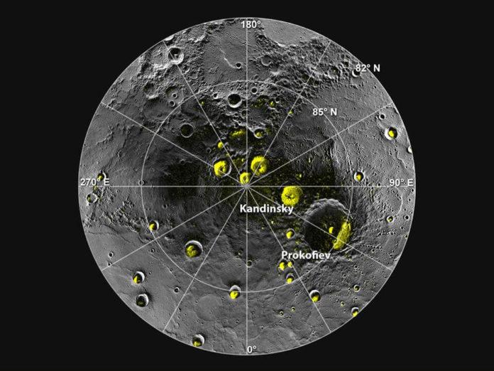 Вода на планете Меркурий