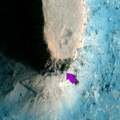 Аномалии на Марсе.