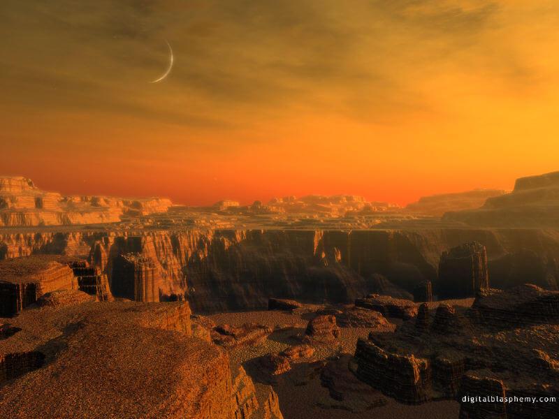 Все о Марсе. Атмосфера