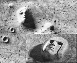 Аномалии на Марсе. Следы цивилизации