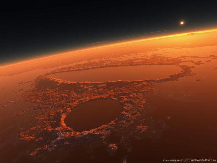 Аномалии на Марсе