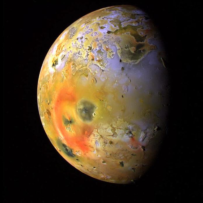 Спутник Юпитера Ио