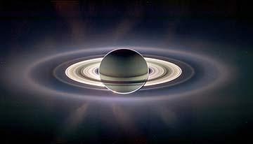 Кольца снимок Кассини