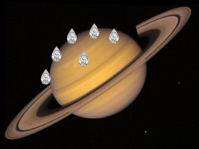 Дождь из алмазов на Сатурне
