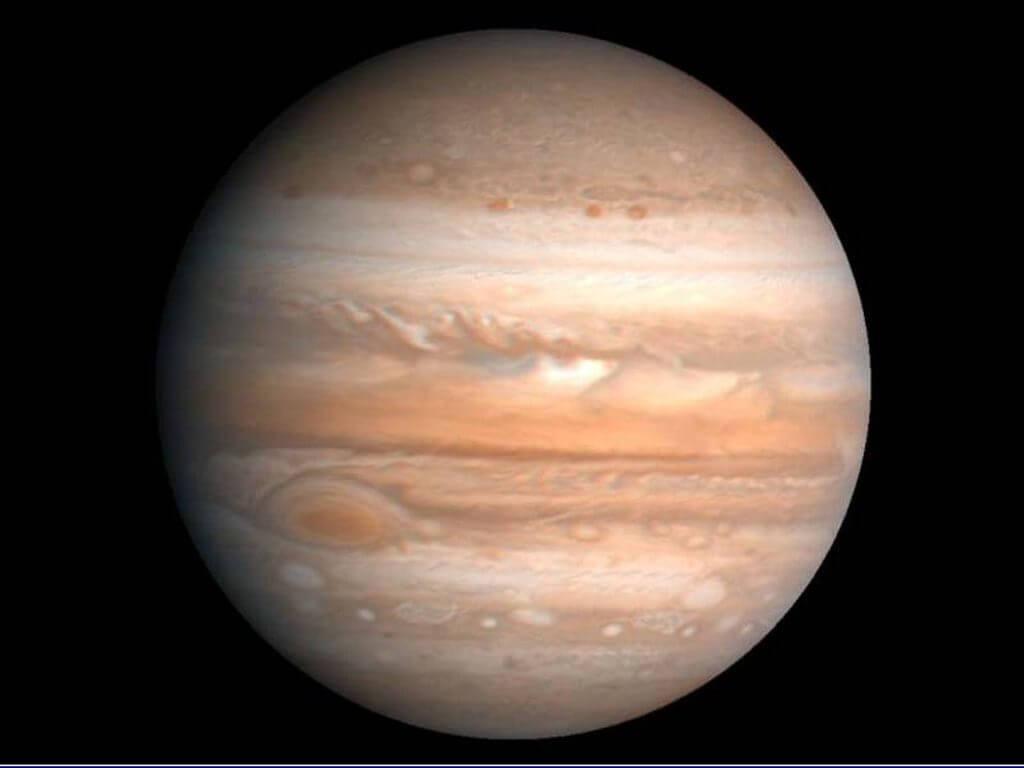 Зоны и пояса Юпитера